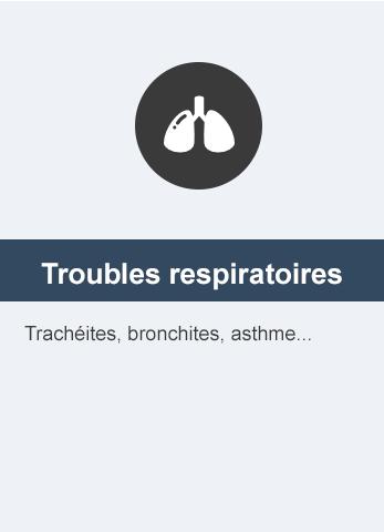difficultés respiratoires liés aux allergies ou inflammations